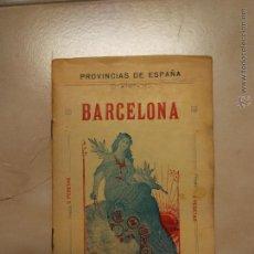 Libros antiguos: MAPA BARCELONA. ED. ALBERTO MARTIN. D. BENITO CHIAS. Lote 52695506