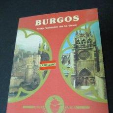 Libros antiguos: BURGOS. FRAY VALENTIN DE LA CRUZ. . Lote 52721897