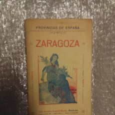 Libros antiguos: MAPA ZARAGOZA. PROVINCIAS DE ESPAÑA, EDITORIAL MARTÍN. Lote 52903814