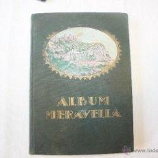 Libros antiguos: ÀLBUM MERAVELLA, VOLUM I. Lote 142543337