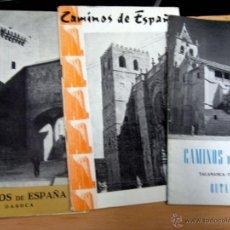 Libros antiguos: CAMINOS DE ESPAÑA - PICOS DE EUROPA - ELCHE - DAROCA - TALAMANCA - TORRELAGUNA - PIRINEO NAVARRO.... Lote 53973046