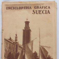 Libros antiguos: SUECIA, LA INDIA, -ENCICLOPEDIA GRÁFICA- DOS EJEMPLARES -LL-. Lote 54186446