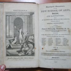 Libros antiguos: ENCLYCLOPAEDIA MANCUNIENSIS; OR THE NEW SCHOOL OF ARTS, ..... VOL.II, 1815. Lote 54210034