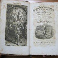 Libros antiguos: GÉOGRAPHIE DRAMATIQUE DE LA JEUNESSE, 1830. JAUFFRET. BELLO FRONTISPICIO Y 10 GRABADOS. Lote 54224876