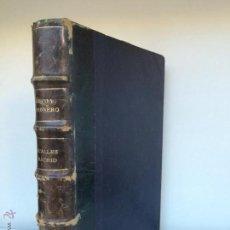 Libros antiguos: LAS CALLES DE MADRID. HILARIO PEÑASCO DE LA FUENTE Y CARLOS CAMBRONERO.1889. Lote 54675364