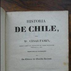 Libros antiguos: PANORAMA UNIVERSAL. HISTORIA DE CHILE E HISTORIA DE LA NORUEGA. 2 TOMOS. 1839. . Lote 54497305