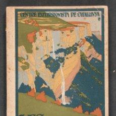 Libros antiguos: LES GUILLERIES. DESCRIPCIÓ GENERAL DE LA COMARCA. CENTRE EXCURSIONISTA DE CATALUNYA. Lote 54497586
