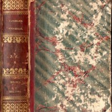 Libros antiguos: PANORAMA UNIVERSAL : HISTORIA DE BÉLJICA Y HOLANDA (EL IMPARCIAL, 1844) NUMEROSOS GRABADOS. Lote 54574482