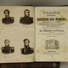 Libros antiguos: 6987 - VIAJE PINTORESCO ALREDEDOR DEL MUNDO. TOMO III. DUMONT D'URVILLE. IMP. J. OLIVERES. 1841.. Lote 52358591