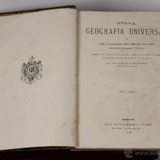 Libros antiguos: 6566 - GEOGRAFIA UNIVERSAL. VV. AA. 4 TOMOS.(VER DESCRIP.). EDIT. MONTANER Y SIMON. 1878/79.. Lote 49839396