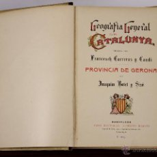 Libros antiguos: 6583 - GEOGRAFIA GENERAL DE CATALUNYA. 6 VOLUM. VV. AA. EDIT. A. MARTÍN. S/F.. Lote 49888134