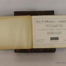 Libros antiguos: 5767- SEU D'URGELL I ANDORRA. GUIA DEL TURISMO I DE L'EXCURSIONISME. EDI. CERVANTES. 1930.. Lote 48511570