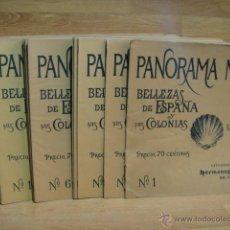 Libros antiguos: PANORAMA NACIONAL - COLECCION COMPLETA 40 TOMOS. Lote 54915871
