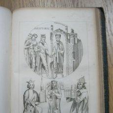 Libros antiguos: HISTORIA GENERAL DE FRANCIA, 1837. A. HUGO. CONTIENE 100 ILUSTRACIONES. Lote 55144558