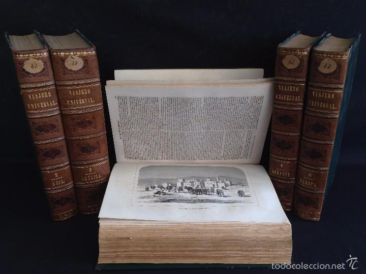 VIAJES. NUEVO VIAJERO UNIVERSAL, ENCICLOPEDIA DE VIAJES MODERNOS ,FERNANDEZ CUESTA, COMPLETA 1859-62 (Libros Antiguos, Raros y Curiosos - Geografía y Viajes)