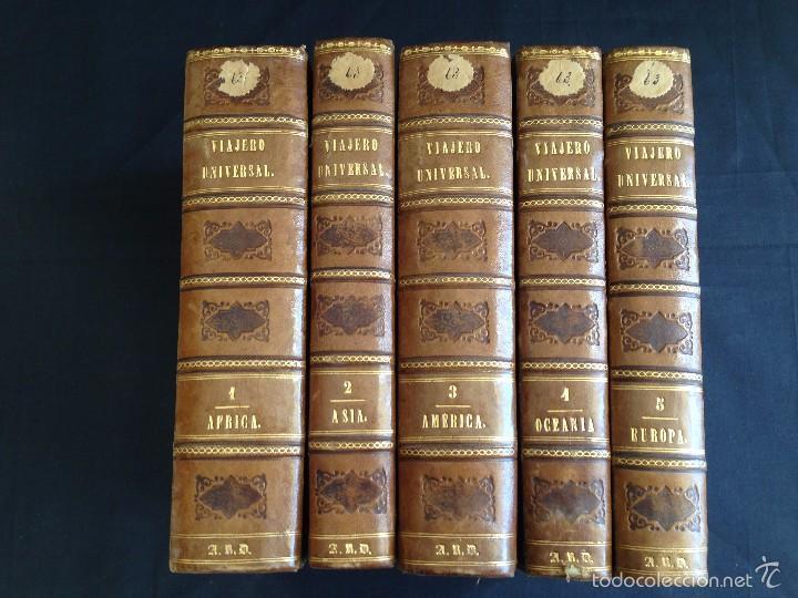Libros antiguos: Viajes. NUEVO VIAJERO UNIVERSAL, Enciclopedia de Viajes Modernos ,Fernandez Cuesta, Completa 1859-62 - Foto 3 - 55591406