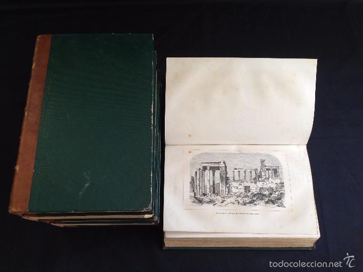 Libros antiguos: Viajes. NUEVO VIAJERO UNIVERSAL, Enciclopedia de Viajes Modernos ,Fernandez Cuesta, Completa 1859-62 - Foto 5 - 55591406