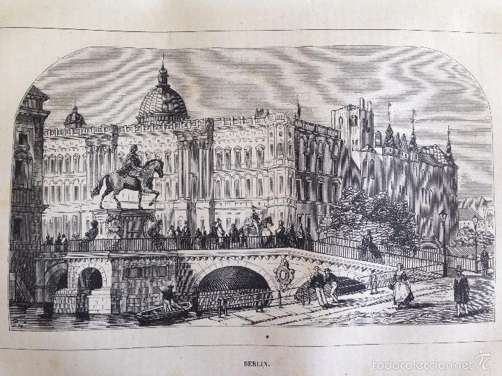 Libros antiguos: Viajes. NUEVO VIAJERO UNIVERSAL, Enciclopedia de Viajes Modernos ,Fernandez Cuesta, Completa 1859-62 - Foto 6 - 55591406