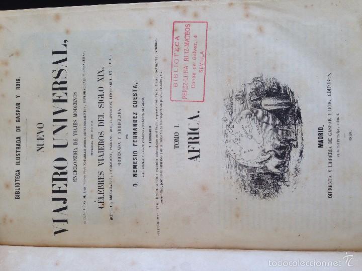 Libros antiguos: Viajes. NUEVO VIAJERO UNIVERSAL, Enciclopedia de Viajes Modernos ,Fernandez Cuesta, Completa 1859-62 - Foto 8 - 55591406
