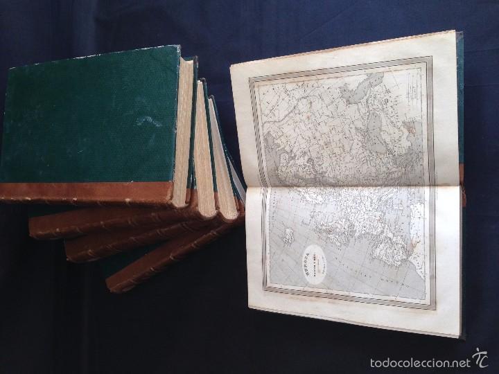 Libros antiguos: Viajes. NUEVO VIAJERO UNIVERSAL, Enciclopedia de Viajes Modernos ,Fernandez Cuesta, Completa 1859-62 - Foto 10 - 55591406