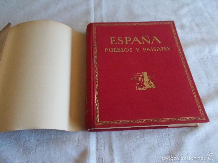 Libros antiguos: ESPAÑA PUEBLOS Y PAISAJES Año 1930 - Foto 2 - 55682525
