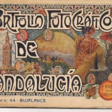Libros antiguos: PORTFOLIO FOTOGRÁFICO DE ANDALUCÍA. Nº 44. BUJALANCE (CÓRDOBA). A.MARTÍN EDITOR.(C/S). Lote 56021863