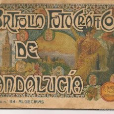 Libros antiguos: PORTFOLIO FOTOGRÁFICO DE ANDALUCÍA. Nº 84. ALGECIRAS (CÁDIZ). A.MARTÍN EDITOR.(C/S). Lote 56022038