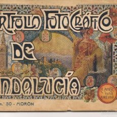 Libros antiguos: PORTFOLIO FOTOGRÁFICO DE ANDALUCÍA. MORÓN DE LA FRONTERA (SEVILLA). A.MARTÍN EDITOR.(C/S). Lote 56022314