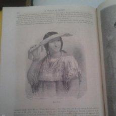 Alte Bücher - LA VUELTA AL MUNDO. TOMO V - Edt. Gaspar y Roig 1866 - 56261478