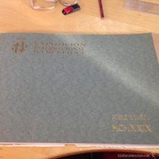 Libros antiguos: 1929.- PUEBLO ESPAÑOL. EXPOSICION INTERNACIONAL DE BARCELONA. LIBRO FOTOGRÁFICO. 40 VISTAS. Lote 56330867