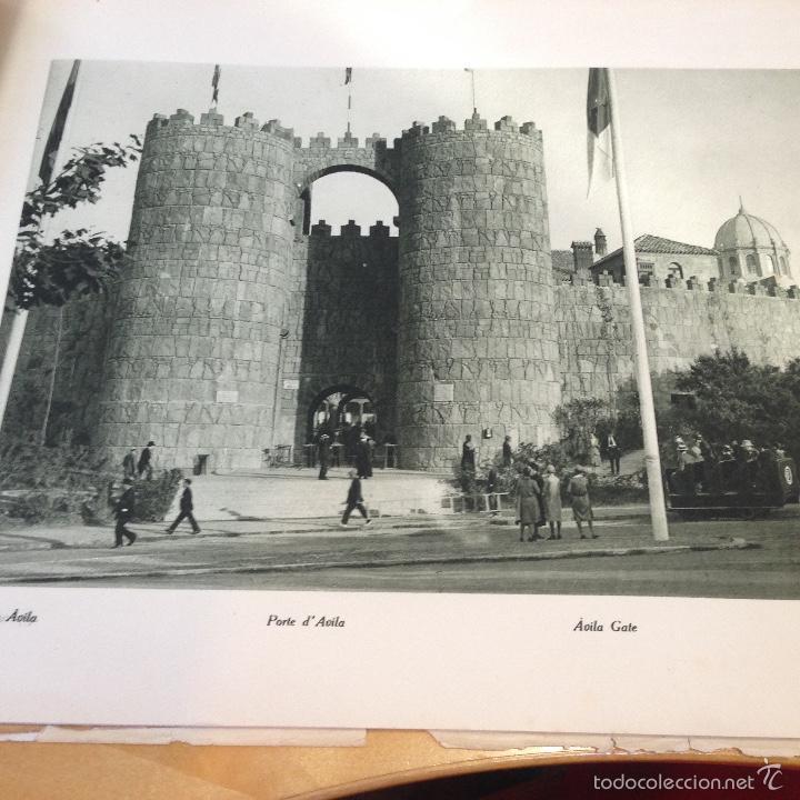 Libros antiguos: 1929.- PUEBLO ESPAÑOL. EXPOSICION INTERNACIONAL DE BARCELONA. LIBRO FOTOGRÁFICO. 40 VISTAS - Foto 2 - 56330867