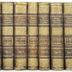 Libros antiguos: 7436 - NUEVA GEOGRAFÍA UNIVERSAL. 10 TOMOS(VER DESCRIP) EDI. M. Y SIMÓN. 1911-1917.. Lote 56379041