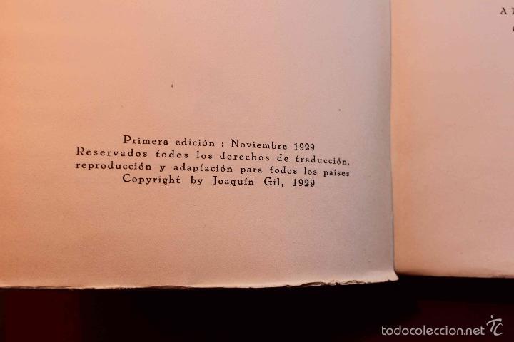 Libros antiguos: La India Misteriosa. Robert Chauvelot. Ed. Iberia. Primera Edición. 1929. - Foto 3 - 56490204