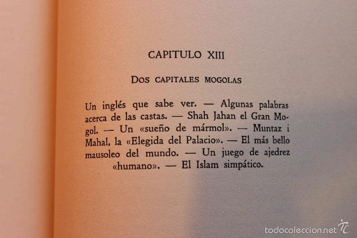 Libros antiguos: La India Misteriosa. Robert Chauvelot. Ed. Iberia. Primera Edición. 1929. - Foto 7 - 56490204