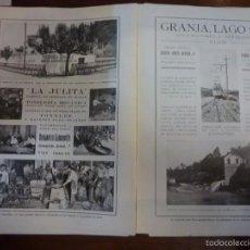 Libros antiguos: VIGO EN 1927. LOS VALORES Y LA ACTUALIDAD VIGUESA. ED. P.P.K.O. CAO MOURE. CON PGS PUBLICIDAD LOCAL. Lote 56714451