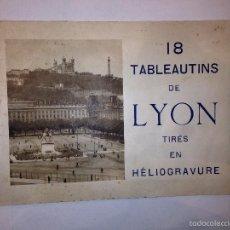 Libros antiguos: LYON - LIBRETO CON IMAGENES DE LYON - FRANCIA - VER FOTOS. Lote 57110992