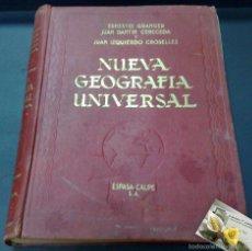 Libros antiguos: AÑO 1929.- NUEVA GEOGRAFÍA UNIVERSAL. ESPASA-CALPE. TOMO III.. Lote 30033555
