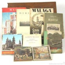 Libros antiguos: 7595 - COLECCIÓN DE 9 GUIAS DE ESPAÑA(VER DESCRIP). VARIAS EDITORIALES. 1908-1976.. Lote 57298268