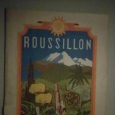Libros antiguos: ROUSSILLON. THERMALISME & CLIMATISME FRANCE - PERPIGNAN. Lote 57446237