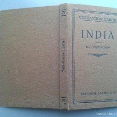 Libros antiguos: INDIA. PROF. STEN KONOW. AÑO 1926.. Lote 57830954