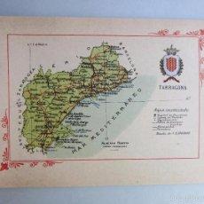 Libros antiguos: 1910-TARRAGONA.MAPA PROVINCIA.16 FOTOS.PORFOLIO FOTOGRÁFICO ESPAÑA.ORIGINAL. Lote 57931263