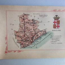 Libros antiguos: 1910- BARCELONA. MAPA PROVINCIA. 16 FOTOS.PORFOLIO FOTOGRÁFICO ESPAÑA. ORIGINAL. Lote 57931466