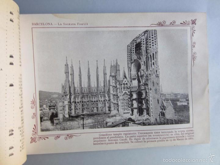 Libros antiguos: 1910- BARCELONA. MAPA PROVINCIA. 16 FOTOS.PORFOLIO FOTOGRÁFICO ESPAÑA. ORIGINAL - Foto 3 - 57931466