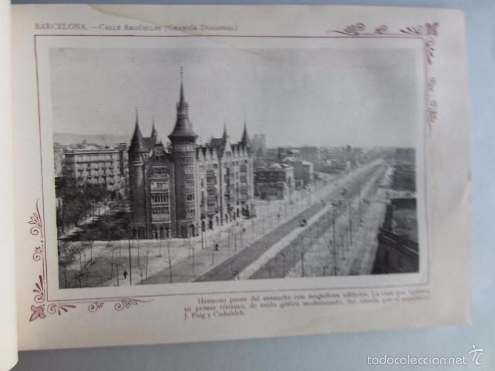 Libros antiguos: 1910- BARCELONA. MAPA PROVINCIA. 16 FOTOS.PORFOLIO FOTOGRÁFICO ESPAÑA. ORIGINAL - Foto 4 - 57931466