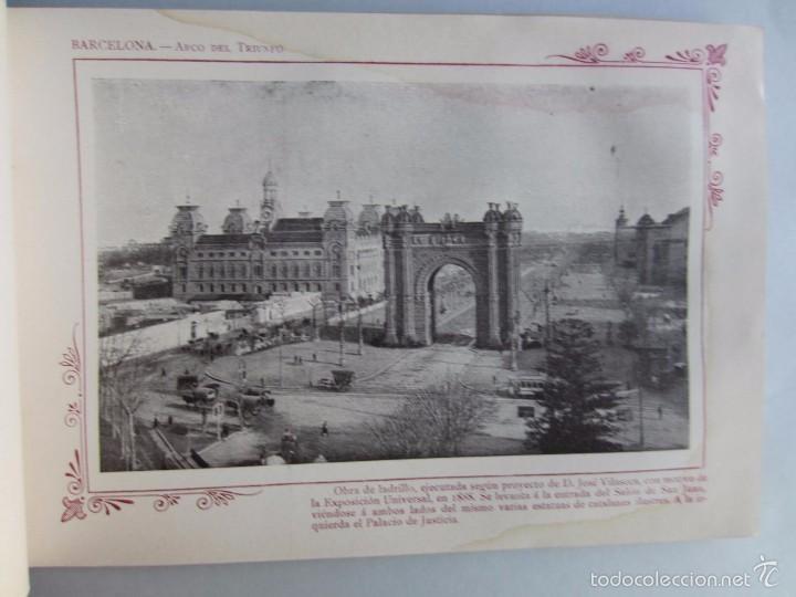 Libros antiguos: 1910- BARCELONA. MAPA PROVINCIA. 16 FOTOS.PORFOLIO FOTOGRÁFICO ESPAÑA. ORIGINAL - Foto 5 - 57931466
