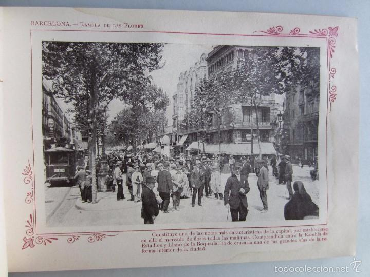 Libros antiguos: 1910- BARCELONA. MAPA PROVINCIA. 16 FOTOS.PORFOLIO FOTOGRÁFICO ESPAÑA. ORIGINAL - Foto 6 - 57931466