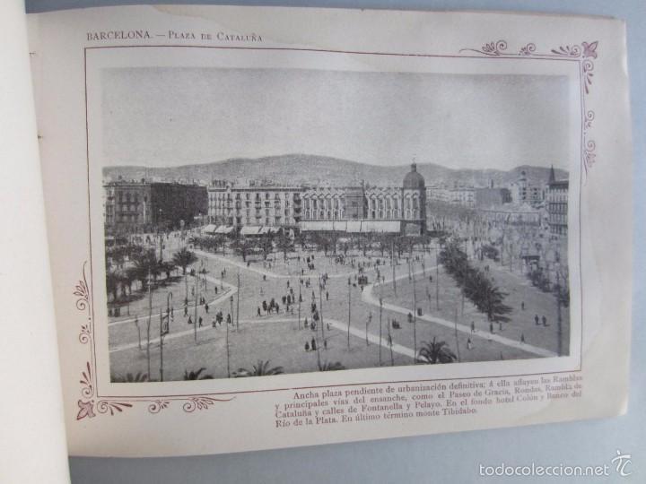 Libros antiguos: 1910- BARCELONA. MAPA PROVINCIA. 16 FOTOS.PORFOLIO FOTOGRÁFICO ESPAÑA. ORIGINAL - Foto 9 - 57931466