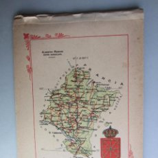 Libros antiguos: 1910- NAVARRA. MAPA PROVINCIA. 16 FOTOS.PORFOLIO FOTOGRÁFICO ESPAÑA. ORIGINAL. Lote 57947759