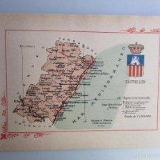 Libros antiguos: 1910- CASTELLÓN. MAPA PROVINCIA. 16 FOTOS.PORFOLIO FOTOGRÁFICO ESPAÑA. ORIGINAL. Lote 57948024