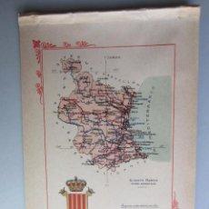 Libros antiguos: 1910- VALENCIA. MAPA PROVINCIA. 16 FOTOS.PORFOLIO FOTOGRÁFICO ESPAÑA. ORIGINAL. Lote 57948148